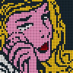Crying girl--Pixel art