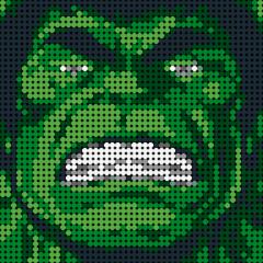 Hulk-Pixel art