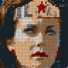 Wonder Woman Pixel Art