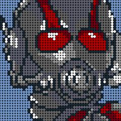 Ant-Man Pixel Art