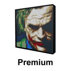 The Dark Knight-Joker Pixel art Upgraded Version