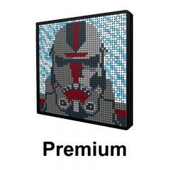 Star Wars Hunter Pixel Art Upgraded Version