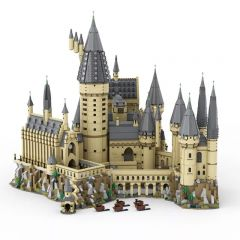 MOC-30884 Hogwart's Castle (71043) Epic Extension C4195