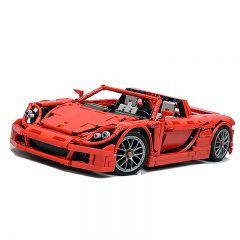 MOC-8579 Porsche Carrera GT - RED