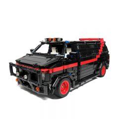 MOC-5945 A-Team Van
