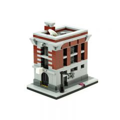 MOC-10967 Firehouse Headquarters (Ghostbusters)