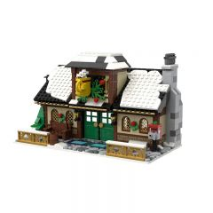 Building MOC Winter Village - Cafe MOC-17649