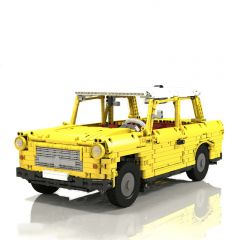 Technic MOC Trabant 601 universal MOC-12087