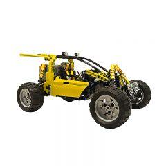 Technic MOC Lime Buggy MOC-3929