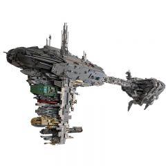 Star Wars MOC Mortesv's UCS Nebulon-B Medical Frigate MOC-5083