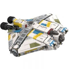 Star Wars MOC The Ghost VCX-100 Armed Freighter MOC-37032