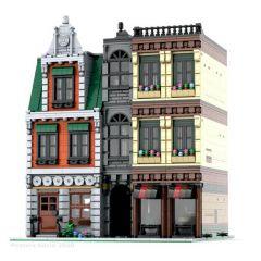 Building  MOC Modular DownTown CityCenter MOC-37229