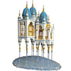 Building MOC Floating Castle