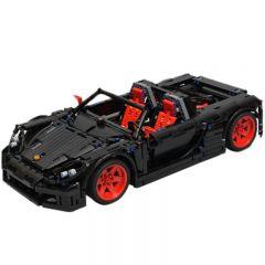 Technic MOC Porsche Carrera GT (1:10) Black MOC-8581