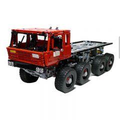 Technic MOC Tatra 813 Trial Truck MOC-1963