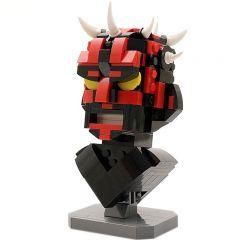 Star Wars MOC Custom LEGO Dark Spiked Sith MOC MOC-12474
