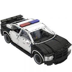 Technic MOC Dodge Charger US Police Car MOC-27336