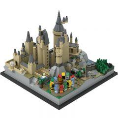 Building MOC H?gwarts Castle Architecture MOC-25280