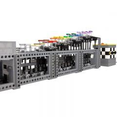 Technic MOC Rainbow Stepper MOC-25851