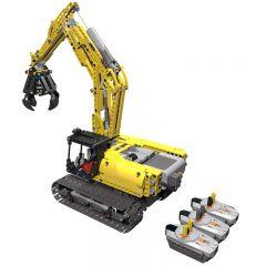 Technic MOC 42006 Excavator full RC MOC-14259