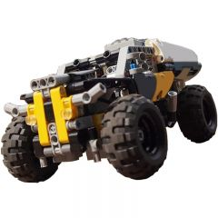 Technic MOC 42033 + 42034 + 42035 motorized MOC-9880