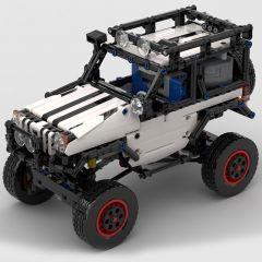 Technic MOC 4x4 Trophy Jeep RC MOC-24142