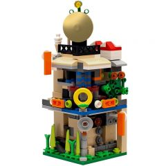 Building MOC Mini Ninjago City MOC-10061