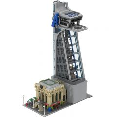 MOC-39673 Modular Avengers and Stark Tower Avengers Tower