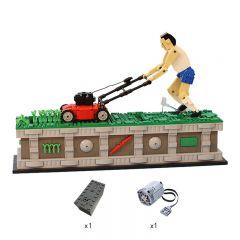 MOC-10820 Lawn Mower Man