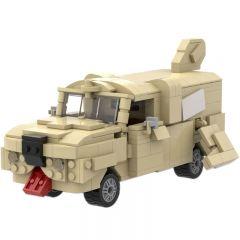 MOC-20096 Dumb & Dumber Mutt Cutts Dog Van