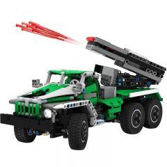 6x6 Truck-Rocket Launcher BM-21 MOC-2158