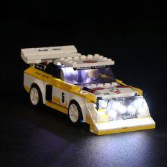 LEGO 1985 Audi Sport quattro S1 76897 Light Kit