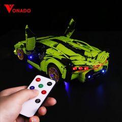 LEGO Lamborghini Sián FKP 37 42115 Light Kit