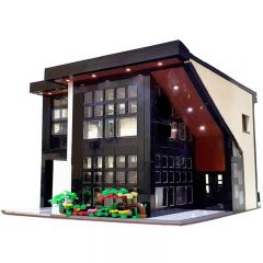 MOC-45635 Modern Cafe Modular 2020