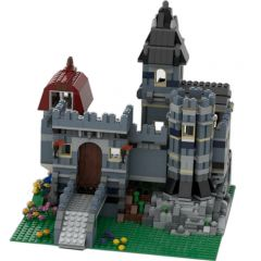 MOC-37994 Blue Castle Alternate Build of 10218 Petshop