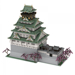 Tenshukaku of Osaka Castle