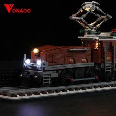 LEGO Crocodile Locomotive 10277 Light Kit