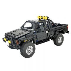 Toyota SR5 xtra cab 4x4 pickup truck-Back to the future MOC-43124