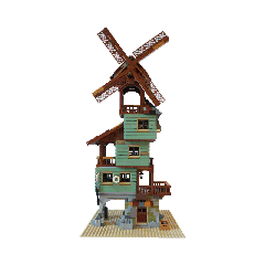 MOC-24737 Old Mill by the Sea