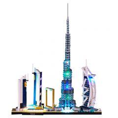 LEGO Architecture Skylines Dubai 21052 Light Kit