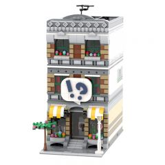 MOC-42895 Modular Comic Shop + Apartment