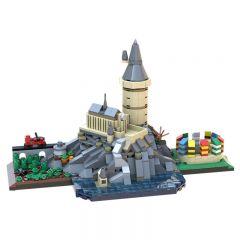 MOC-29067 Hogwarts Skyline