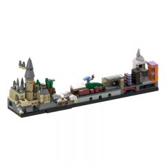 MOC-22348 Harry Potter Skyline Architecture