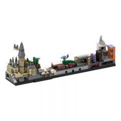MOC-22348 Harry Potter Skyline Architecture