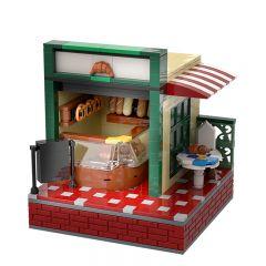 MOC-33130 Street Bakery Shop