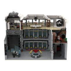 MOC-37124 Iron Man Base by beewiks-Beewiks