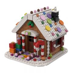 MOC-38838  Gingerbread's House