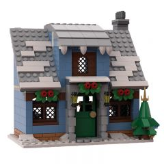 MOC-32797 Winter Village Cottage