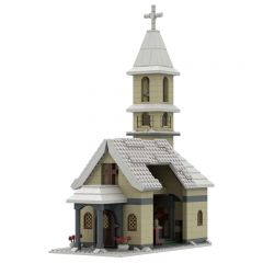 MOC-39799 Church Winter Village