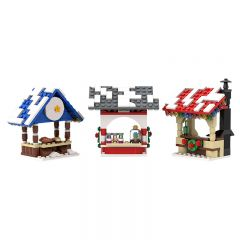 MOC-18167 Winter Village - Market Stalls